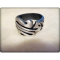 Aqua Line - Men of Thumb Rings - Steel In Style - CURL
